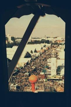 Riesenrad Bierstrasse Oktoberfest