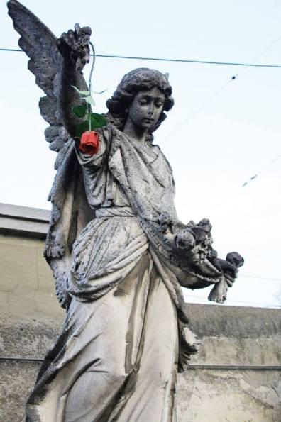 wiener zentralfriedhof steinengel