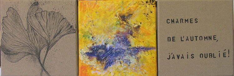 N°14 - 18x54cm - technique mixte - octobre 2012 - collection particulière.