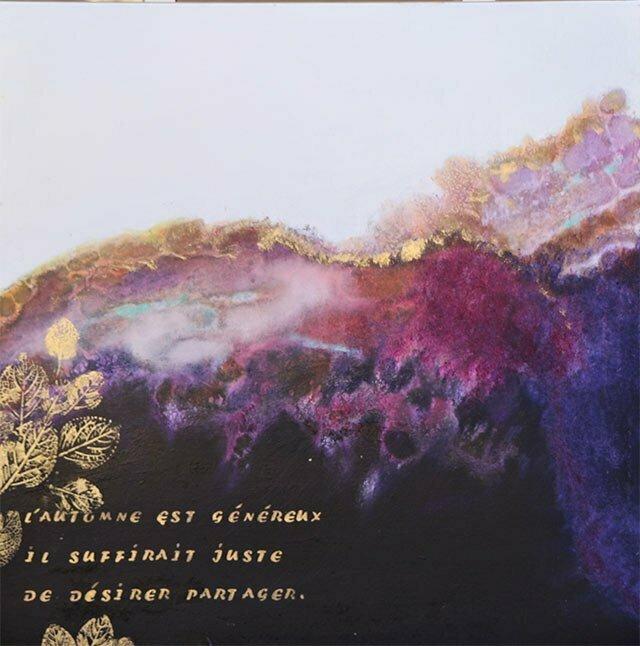Toile 12 – 60 X60 cm Peinture à l'huile - 30 octobre 2016 – collection particulière.