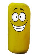 pastel jaune heureux