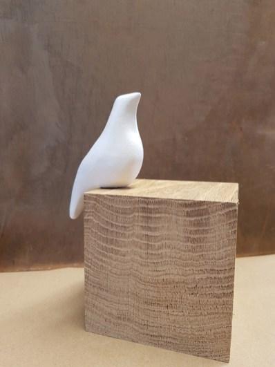 Oiseau perché / Terre sigillée / H 7