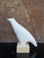 Oiseau pied / Terre sigillée / H 10