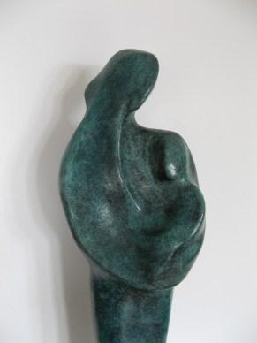 Détail madone / Bronze