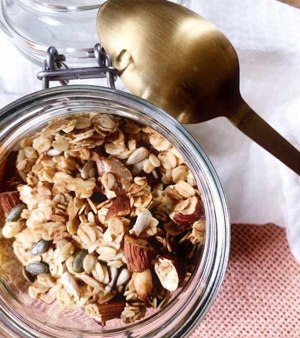 Recette facile du granola maison !