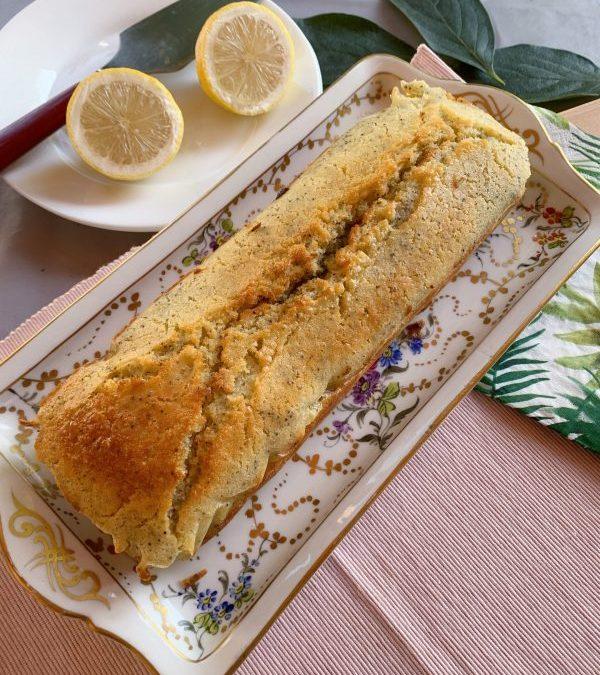 Recette facile du Cake citron aux graines de pavot