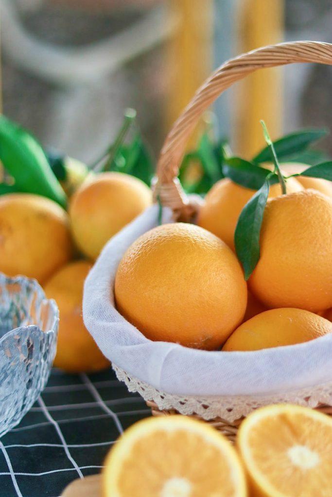 oranges pour augmenter les défenses immunitaires naturellement