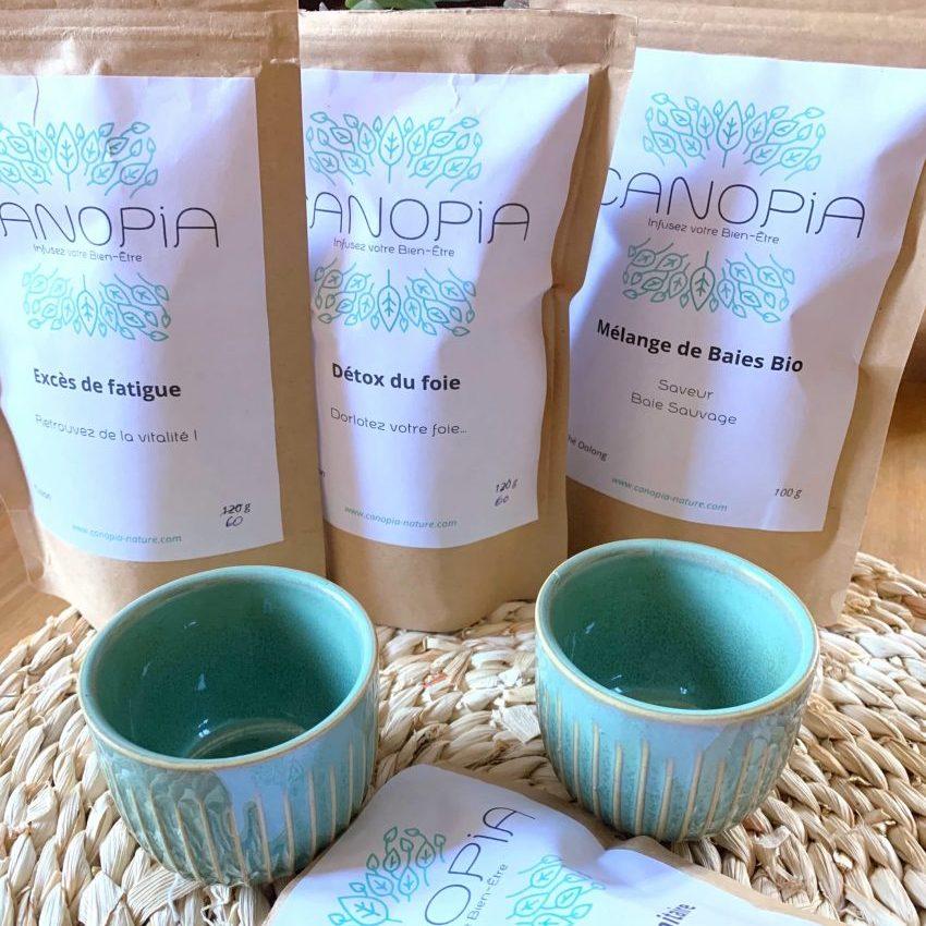 thé et infusion de canopia