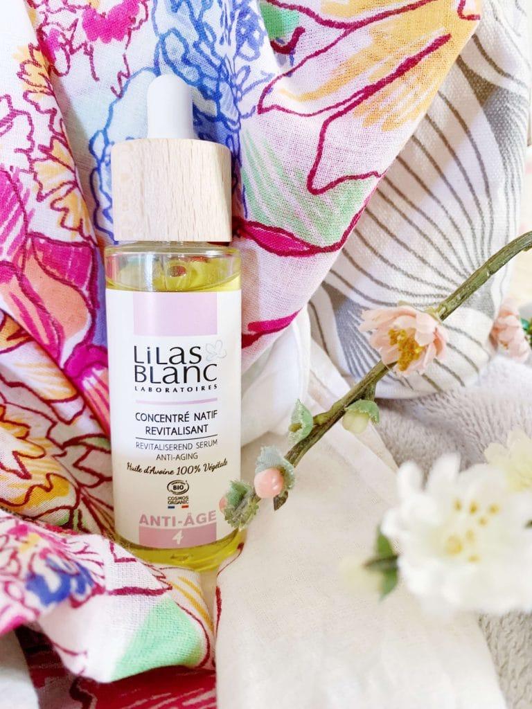 Lilas blanc sérum anti-âge