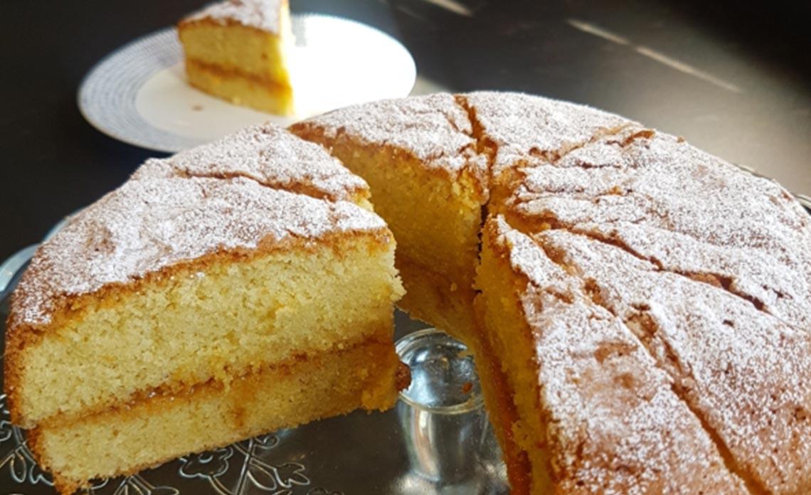 Gluten free American-style Sponge Cake