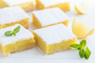 gluten free lemon bars