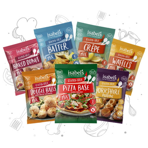 isabels gluten free discovery pack