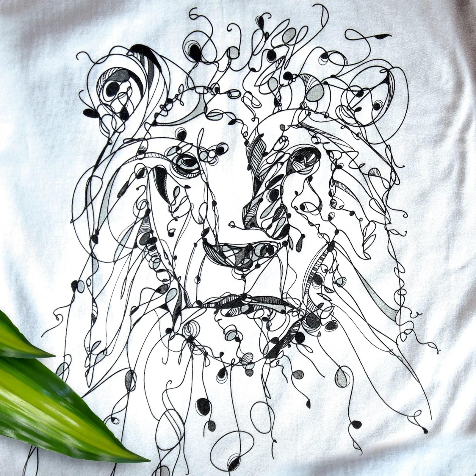 line-drawing-design-lion-panthera-leo