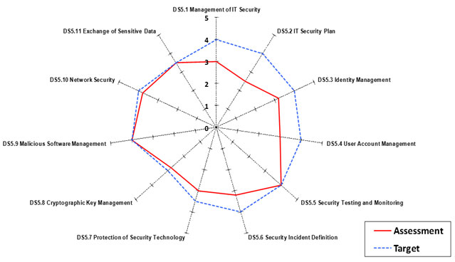 Using COBIT 5 to Assess IT Processes Capabilities and