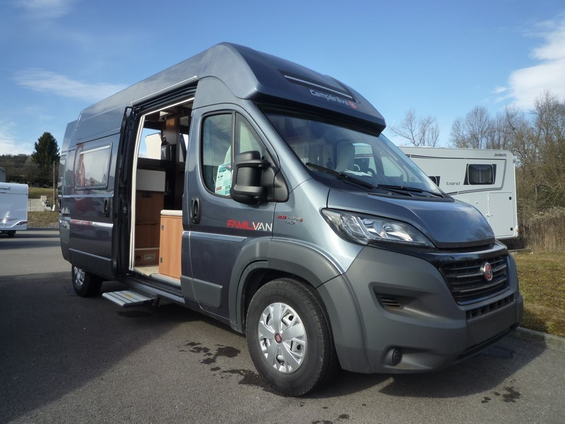 Fourgon Camprve Family Van Isacar