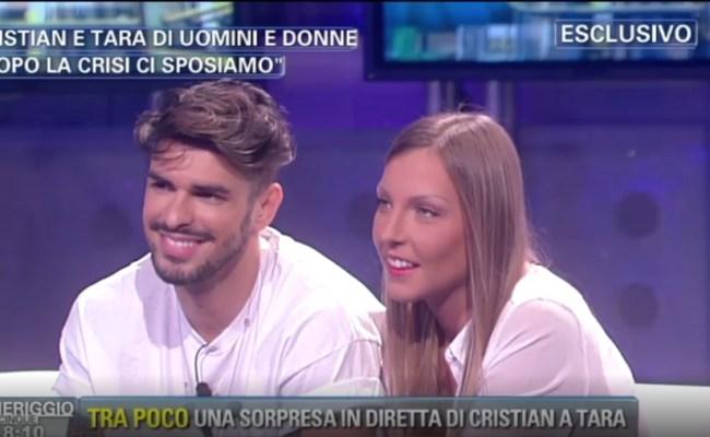 Cristian Gallella E Tara Gabrieletto A Pomeriggio 5 E