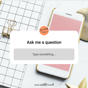 How to use Instagram Story to ask questions