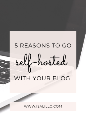 how to self-hosted blog
