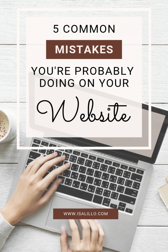 5 common wordpress mistakes