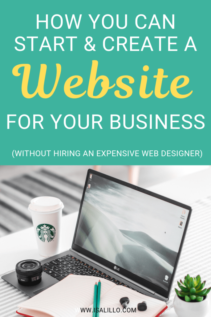 how to business website