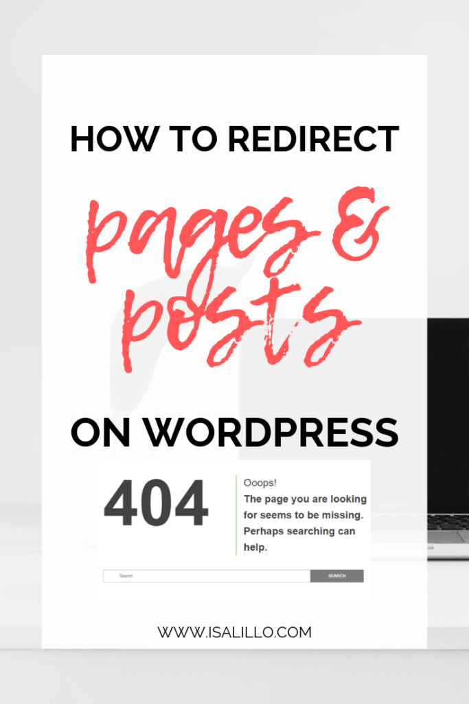 how-to-redirect-pages-and-posts-on-wordpress-404-page-not-found-error