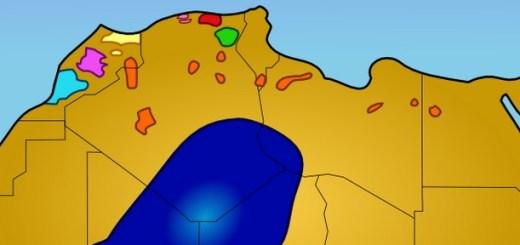 La langue Touareg. Touaregs en bleu