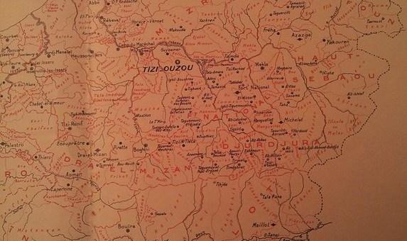 Confiderations et tribus de la Grande Kabylie Tamawya Taqbaylit Algerie