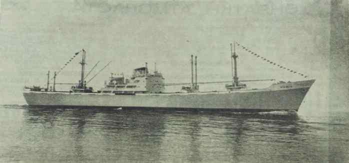 Την άνοιξη του 1962 παρελήφθη από τον Οίκο Φαφαλιού το φορτηγό πλοίο «Μαρία». Η χωρητικότητα του νεότευκτου πλοίου ήταν 13.665 τόνοι d.w. και κατασκευάστηκε στα ναυπηγεία του Weser στην Γερμανία. Το μήκος του πλοίου ήταν 153,9 μέτρα, το πλάτος 18,6 και βύθισμα 8,8 μέτρα. Η υπηρεσιακή ταχύτητα του πλοίου, που έφερε στην τσιμινιέρα του το χαρακτηριστικό γράμμα «Φ», έφτανε τα 15 μίλια. [Ναυτικά Χρονικά, αρ. 647/406, 15 Μαΐου 1962]