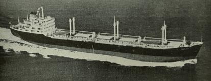 Το bulk carrier «Λακωνία», υπό την διαχείριση του Οίκου Ν. Ι. Γουλανδρή, είχε ναυπηγηθεί στην Ιαπωνία, είχε νηολογηθεί στην Άνδρο και είχε υψώσει την ελληνική σημαία. Η χωρητικότητά του έφτανε τους 21.000 dwt, ενώ ανέπτυσσε ταχύτητα 16,25 μιλίων. Το μήκος του bulk carrier έφτανε τα 177 μέτρα, το πλάτος τα 23, το ύψος τα 13 και το βύθισμά του τα 9 μέτρα. [Ναυτικά Χρονικά, αρ. 596/355, 1 Απριλίου 1960]