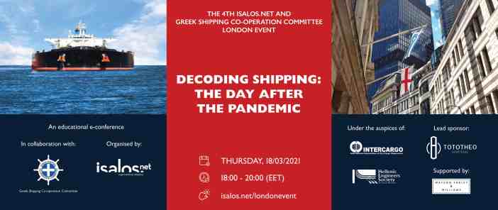 The 4th Isalos.net Maritime e-Conference in London