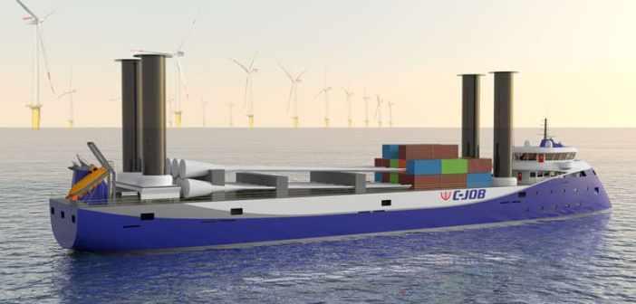 C-Job-naval-architects-flettner-freighter-concept-design-ship-1