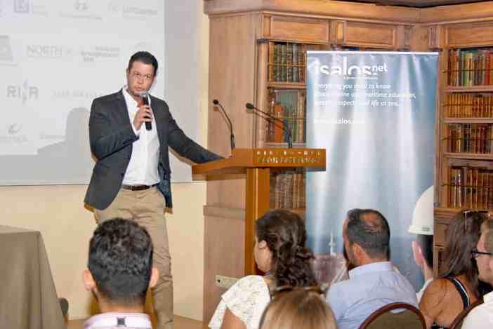 Ο κ. Γιάννης Συρίγος, CFO της Iolcos Hellenic Maritime Enterprises Co.