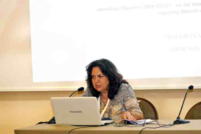 """Η κα Βενετία Καλλιπολίτου, Deputy Managing Director (Human Element & Training), Tsakos Columbia Shipmanagement (""""TCM"""") S.A."""
