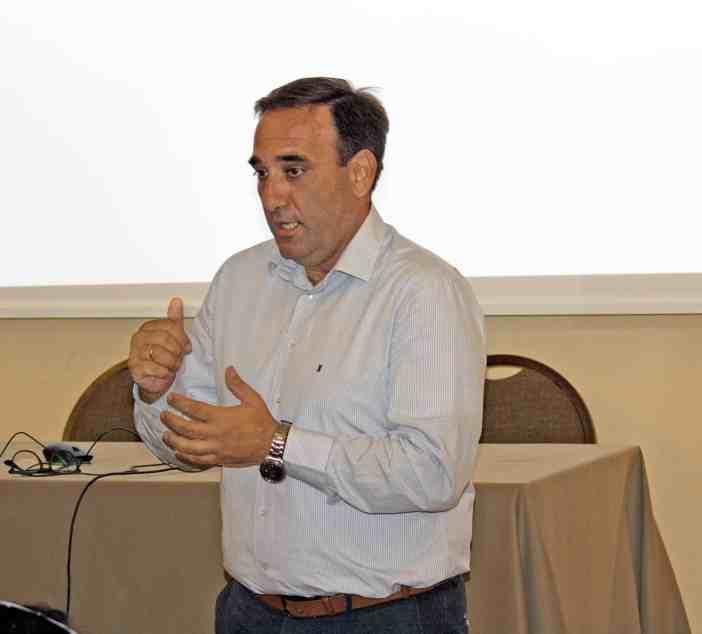 Ο κ. Ευάγγελος Σφακιωτάκης, Τεχνικός Διευθυντής, TMS Tankers Ltd.
