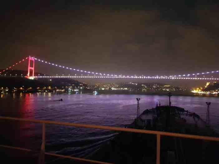 5. Passing Bosporus. Credits to Dimitris Papadakis