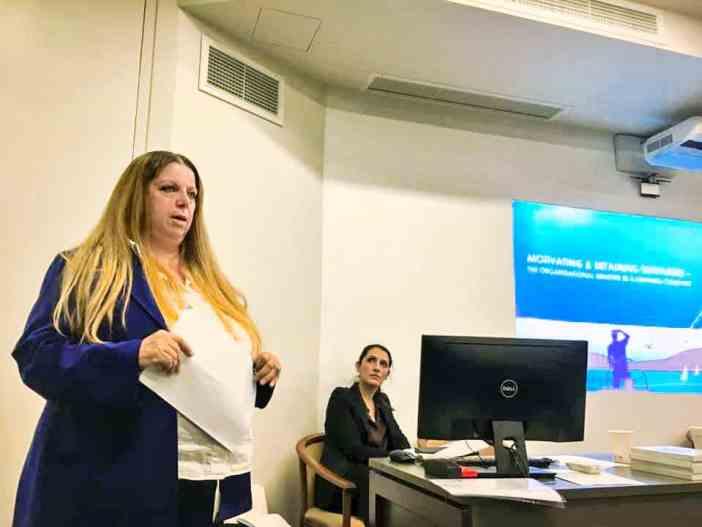 Η κ. Angie Hartmann, Executive Vice President- Crew Affairs της Starbulk S.A., ExCo Board Member της WISTA International και Πρόεδρος της WISTA Hellas