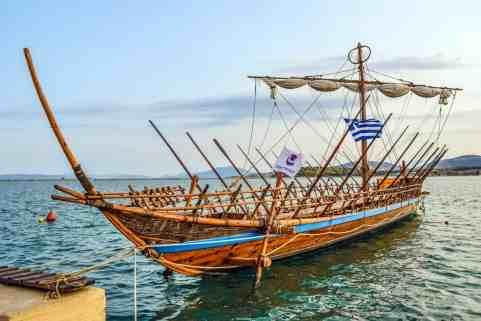 Η Αργώ, το μυθικό πλοίο της εκστρατείας του Ιάσωνα, στον Βόλο./Φωτό: Pixabay