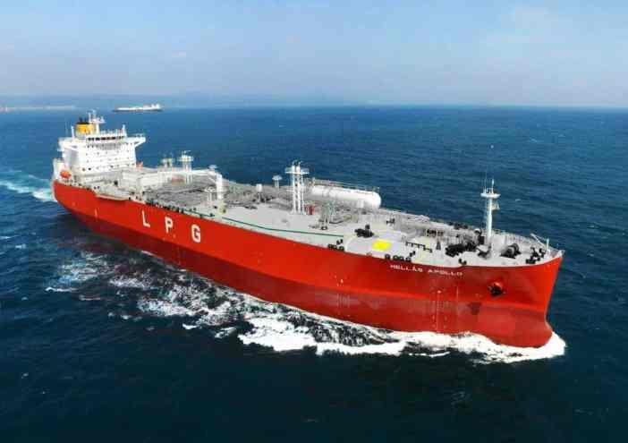 Το LPG carrier «Hellas Apollo»