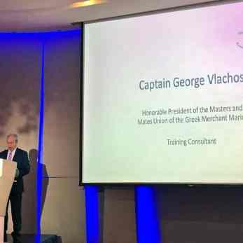 Ο καπτ. Γεώργιος Βλάχος, Training Consultant του Cosmos Nautical Training Centre και της Mediterranean Maritime Academy