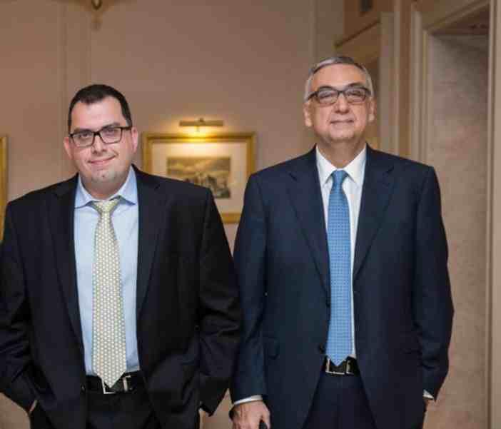 Ο κ. Ιωάννης Λαδερός και ο κ. Δημήτριος Σούρας