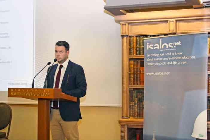 Ο κ. Γιάννης Συρίγος, CFO της Iolcos Hellenic Maritime Enterprises Co. Ltd.