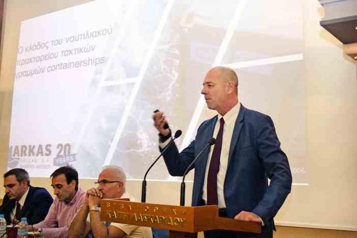 Ο κ. Κίμων Κώνστας, Commercial & Operations Director της Arkas Hellas S.A.
