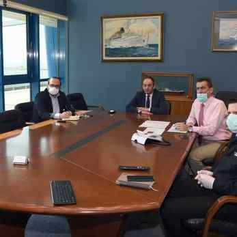 Στιγμιότυπο από την ττηλεδιάσκεψη