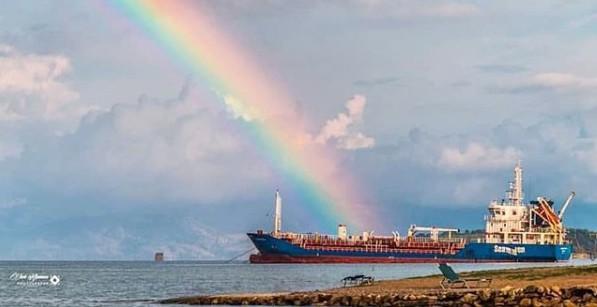 2. Rainbow touch. Credits to Vikentios Alamanos