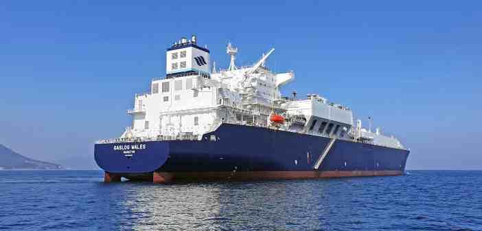 Gaslog Wales sea trials