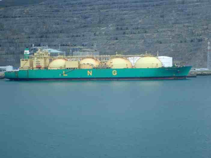LNG Bayelsa. Credits to Petros Bournelis