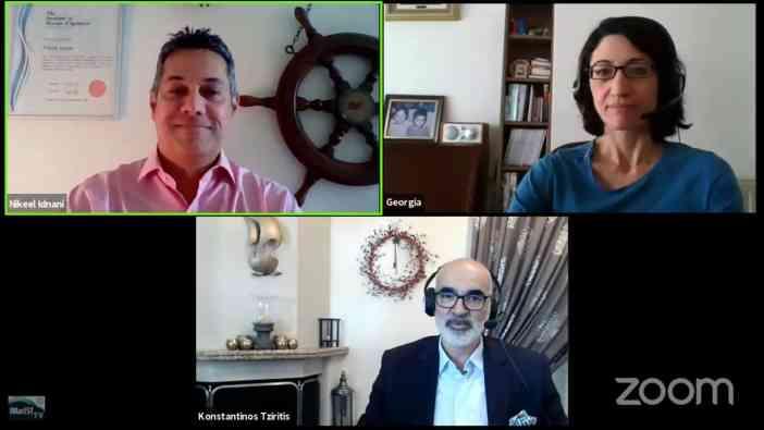Nikeel Idnani, Georgia Chaloulou & Konstantinos Tziritis