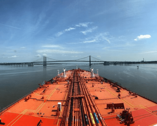 4. Transit into Delaware river. Credits to Konstantinos Giannakopoulos
