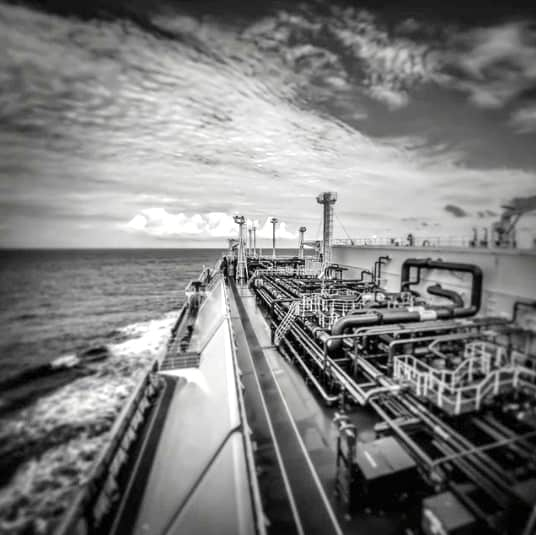 4. LNG carrier in black&white Credits to Nikolaos Saliveros