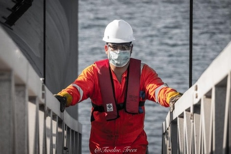 3. Seaman Life during COVID-19 Credits to Babis Koutoulogenis